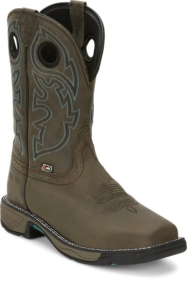 Image for STAMPEDE RUSH MAGNETIC STEEL W/P S/T boot; Style# WK4329