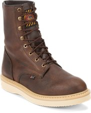 Image for AXE TAN WEDGE boot; Style# WK908