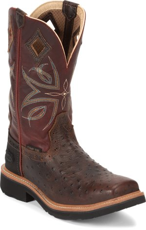 Brown Justin Original Work Boots Kylee Comp Toe