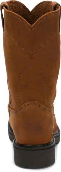 Justin Boots   Conductor Pull On Brown