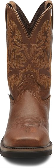 Justin Boots   Handler Safety Toe Brown
