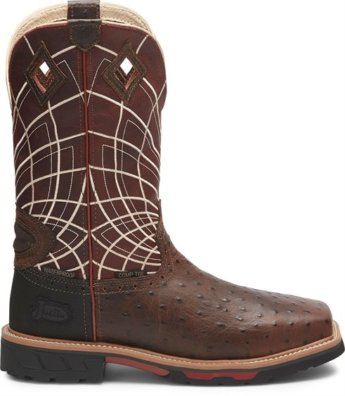 Justin Boots   Derrickman Safety Toe