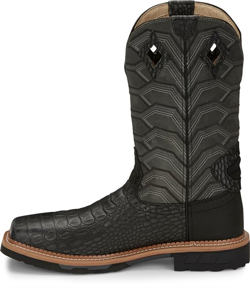 Justin Boots | Derrickman Safety Toe