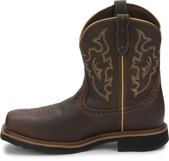 Justin Boots | Jalena Safety Toe Maple