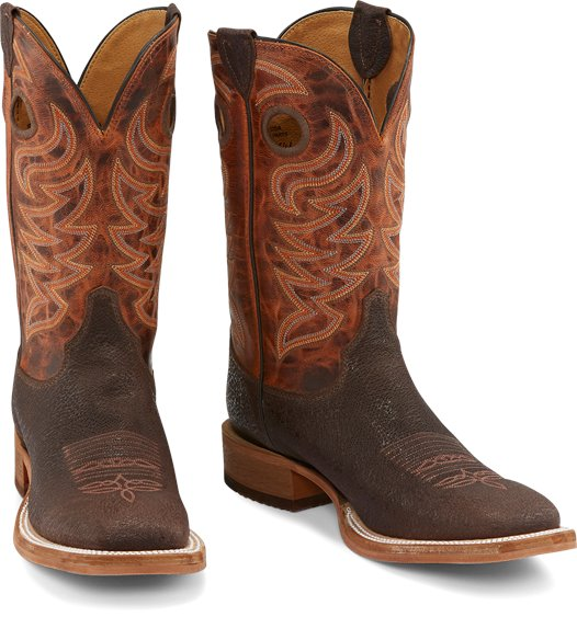 Justin Boots Caddo Brown Stone Br777