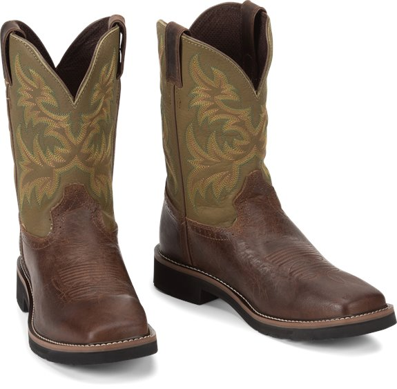 Justin Boots | Driller Brown #WK4687