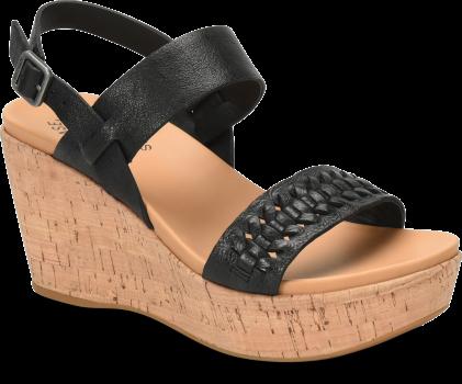 2a65fe1d25e Austin Braid - Black Korkease Womens Sandals