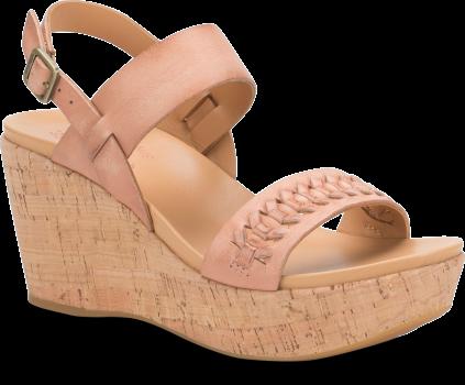 47516117c3c Austin Braid - Blush Korkease Womens Sandals