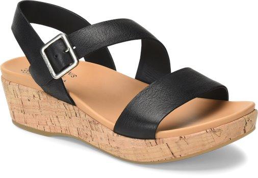 Minihan - Black Korkease Womens Sandals