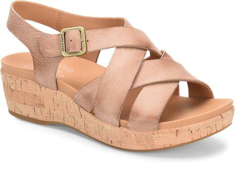 Caroleigh - Natural Korkease Womens Sandals