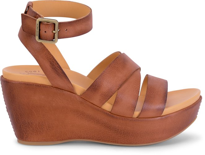 Huge Selection Korkease Keirn in Castle Suede Combo Korkease Womens Sandals Womens Castle Suede Combo / Gray Korkease Womens Sandals