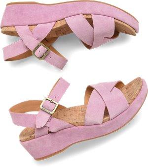 Pink Suede Korkease Myrna 2.0
