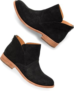 Ono Womens fluorite Suede Square Toe Clogs Black Size 9.0