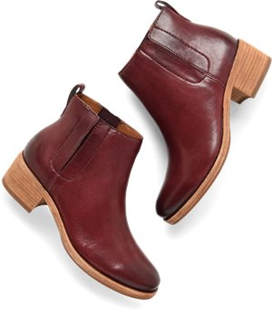 Burgundy Leather Korkease Mindo