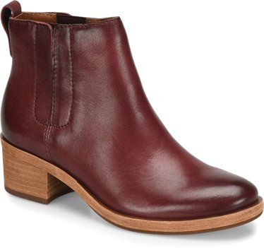 Burgundy Leather Korkease Mindo