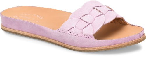 Mauve Suede Korkease Dolphin