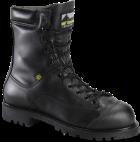 "Men's 8"" Waterproof Lace to Toe Met Guard Prep Plant Boot - Black"