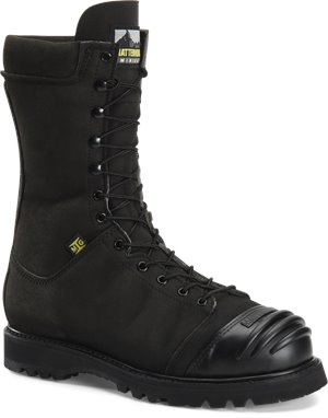 Black Matterhorn 10 inch Nytek Waterproof Mining Boot