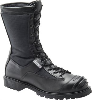 Black Matterhorn 10 Inch WP Leather Nomex Kevlar Ripstop Search Rescue