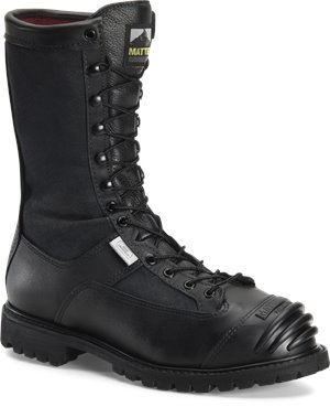 "Black Matterhorn 10"" Waterproof Search Rescue Boot"