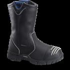 "Mens 10"" Waterproof Internal Metguard Ranch Wellington - Black"
