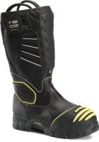 """Mens 15"""" Waterproof Internal Metguard Pull-On - Black"""