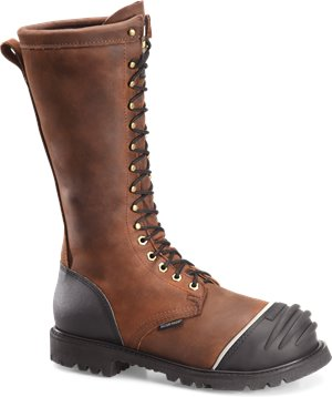 Dark Brown Matterhorn 16  Waterproof Insulated Internal Metguard