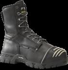 "Men's 8"" Waterproof Internal Metguard Boot - Black"