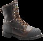 "Men's 8"" Waterproof Insulated Boot - Worn Saddle Black Coffee"