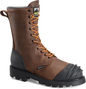Dark Brown Matterhorn 10 INCH Brown WP NON-Insulated XRD Int Metguard