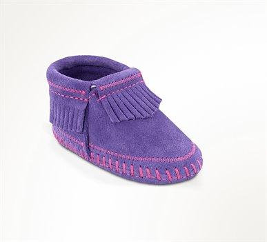 Purple Minnetonka Riley Bootie