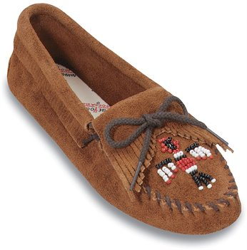Brown Softsole Minnetonka Thunderbird