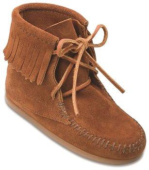 Brown Minnetonka Ankle Hi Tramper Boot