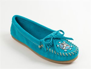 Turquoise Minnetonka Me To We Moc