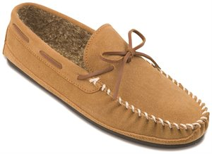 Cinnamon Minnetonka Casey Slipper