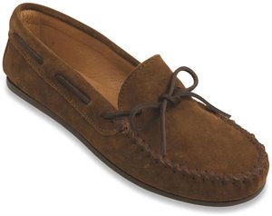 Dusty Brown Minnetonka Classic Moc