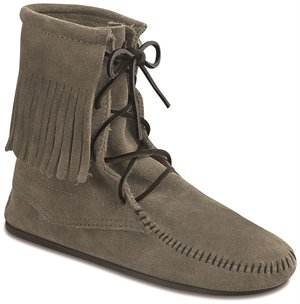 Grey Minnetonka Tramper Ankle Hi Boot