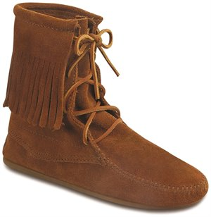 Brown Minnetonka Tramper Ankle Hi Boot