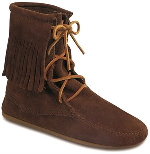 Dusty Brown Minnetonka Tramper Ankle Hi Boot