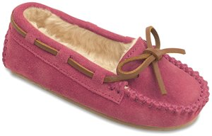 Bright Pink Minnetonka Cassie Slipper