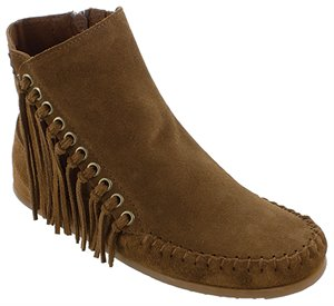 Dusty Brown Minnetonka Willow Boot