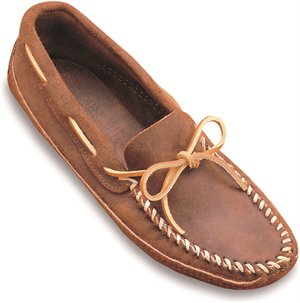 Softsole Brown Minnetonka Double Bottom Soft Sole