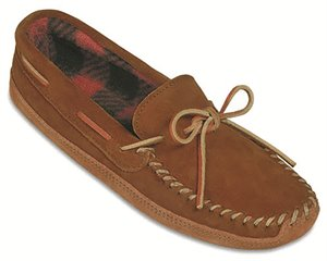 Brown Minnetonka Double Bottom Fleece