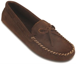 Brown Minnetonka Original Cowhide Driving Moc