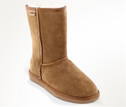 Tan Minnetonka Olympia Boot