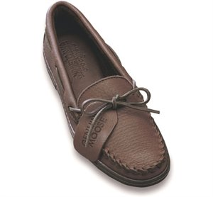 Chocolate Minnetonka Moosehide Classic
