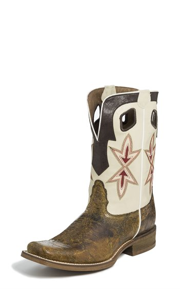 Image for VINTAGE TAN CRACKERJACK boot; Style# NB5500