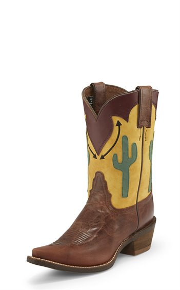 Image for PHOENIX BROWN boot; Style# NL1903