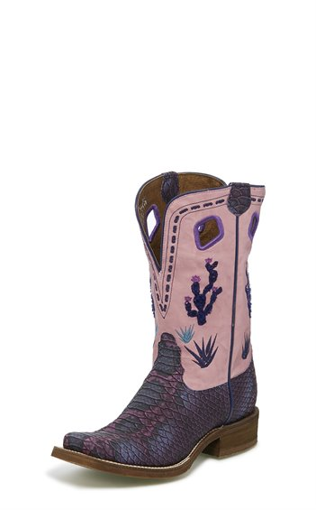 Image for SEDINIA PURPLE PYTHON PRINT boot; Style# NL5403