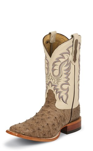 Light Brown Nocona Boots Quicksilver Mink Full Quill